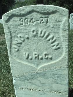 John Quinn Alexandria National Cemetery (Stan Jett)