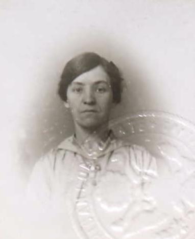 Mary Florence Burck (NARA/Ancestry)