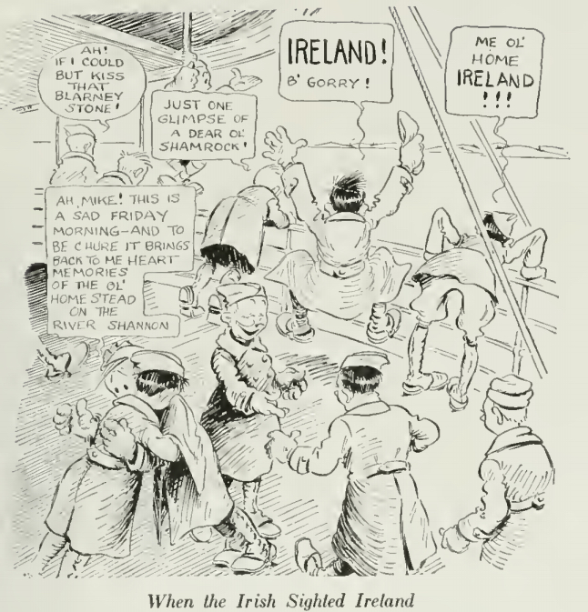 When the Irish Sighted Ireland (History of the Seventy Seventh Division)
