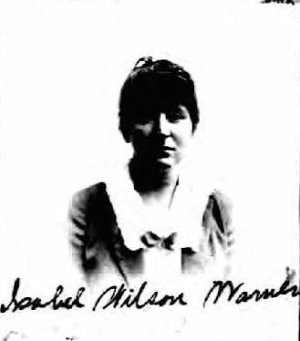 Isabel Wilson Warner (NARA/Ancestry)