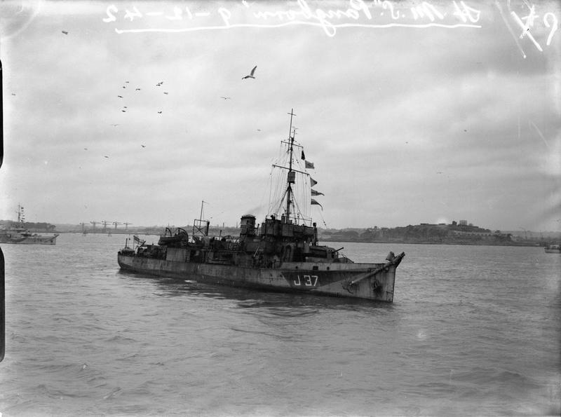 HMS Pangbourne © IWM (FL 17237)
