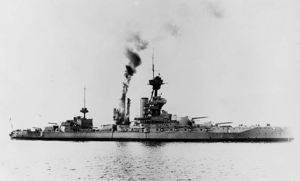 Peter's ship, HMS Marlborough (Image via Wikipedia)