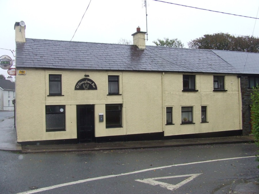 O'Donoghue's Pub in Knockraha- as Canavan's Pub during the War of Independence it was one of the most important Safe Houses in the 4th Battalion area (Rubicon Heritage)